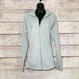 Old Navy xl/tall light gray fleece zip up